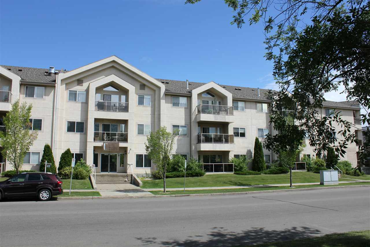 208 6623 172 Street NW, 1 bed, 1 bath, at $190,000
