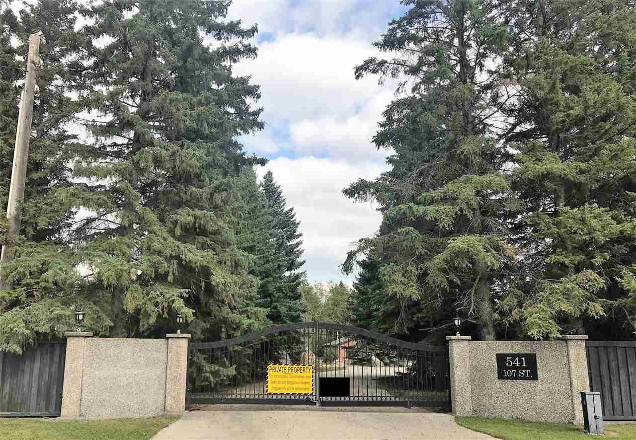 MLS® listing #E4138332 for sale located at 541 107 Street