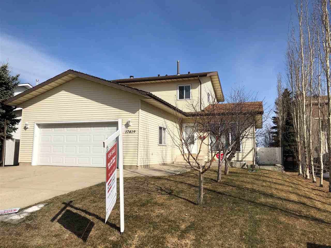 MLS® listing #E4138803 for sale located at 17419 92 Street