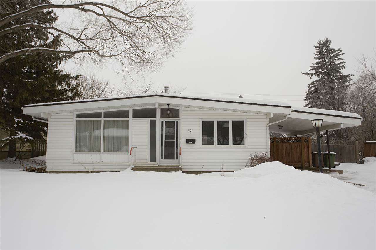45 GLENMORE Crescent, 4 bed, 2 bath, at $365,000