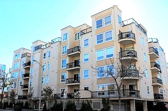 507 10707 102 Avenue NW, 2 bed, 2 bath, at $325,000