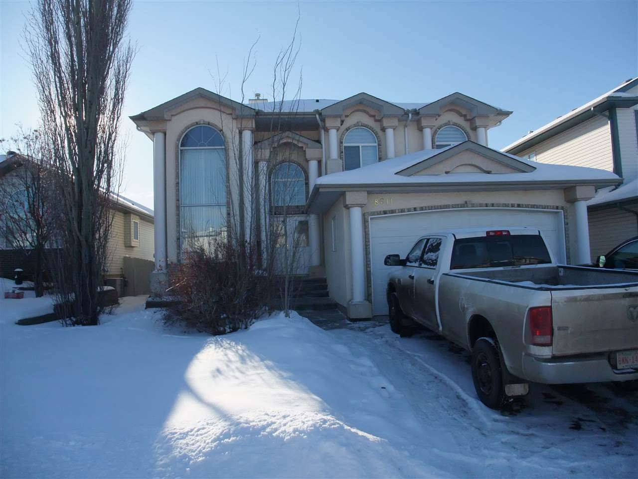 MLS® listing #E4141141 for sale located at 8611 160A Avenue