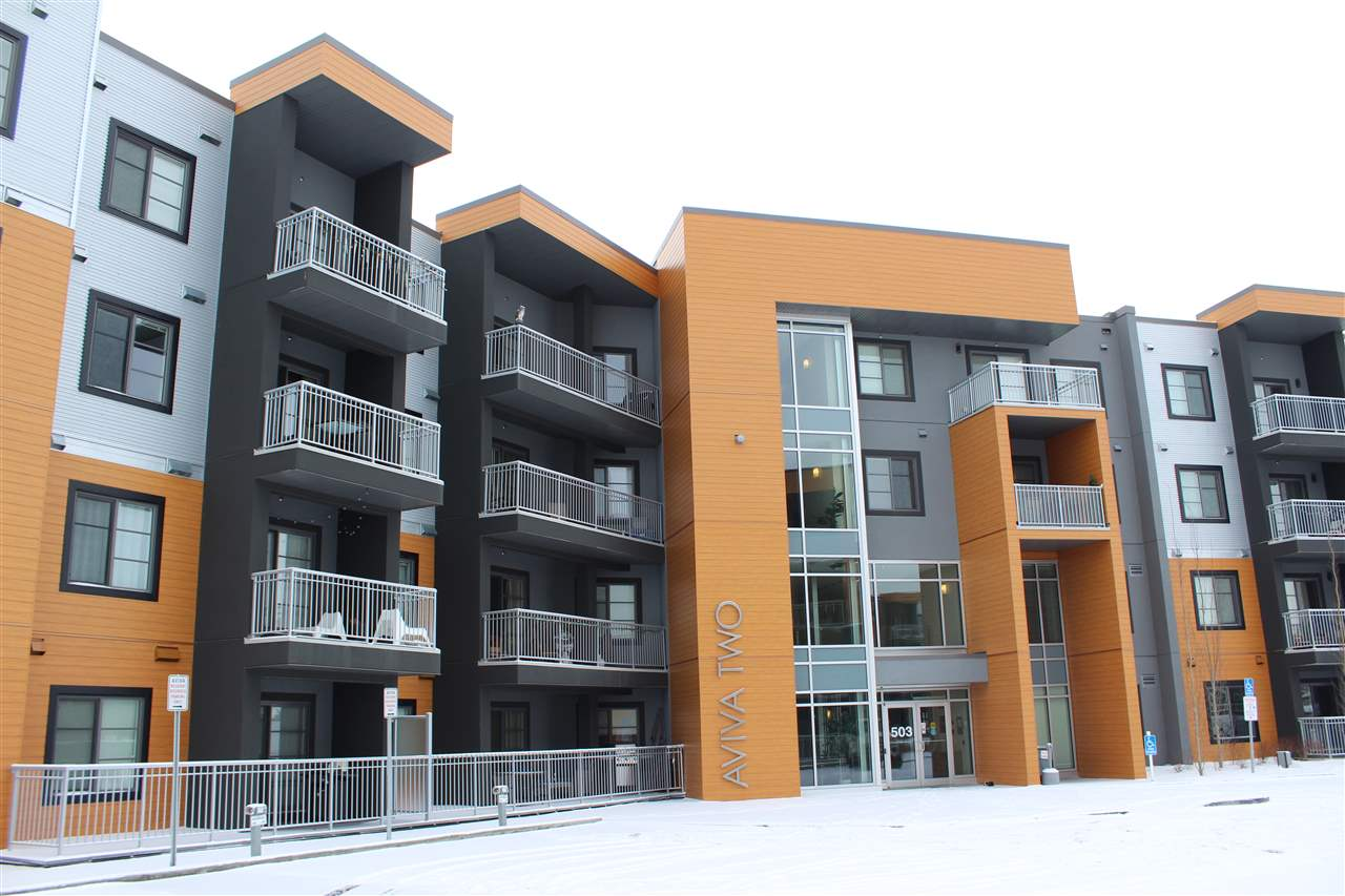 MLS® listing #E4141506 for sale located at 432 503 Albany Way NW