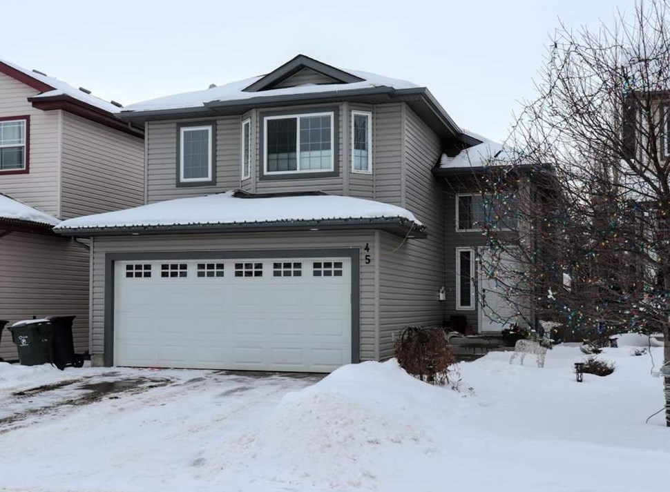 45 BIRCHWOOD Drive, 4 bed, 3 bath, at $405,000