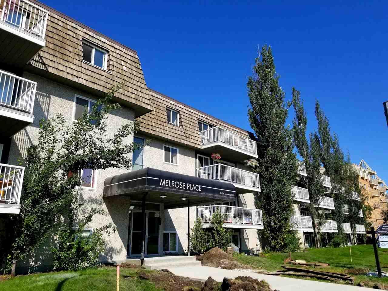 118 8604 Gateway Boulevard NW, 2 bed, 1 bath, at $169,900