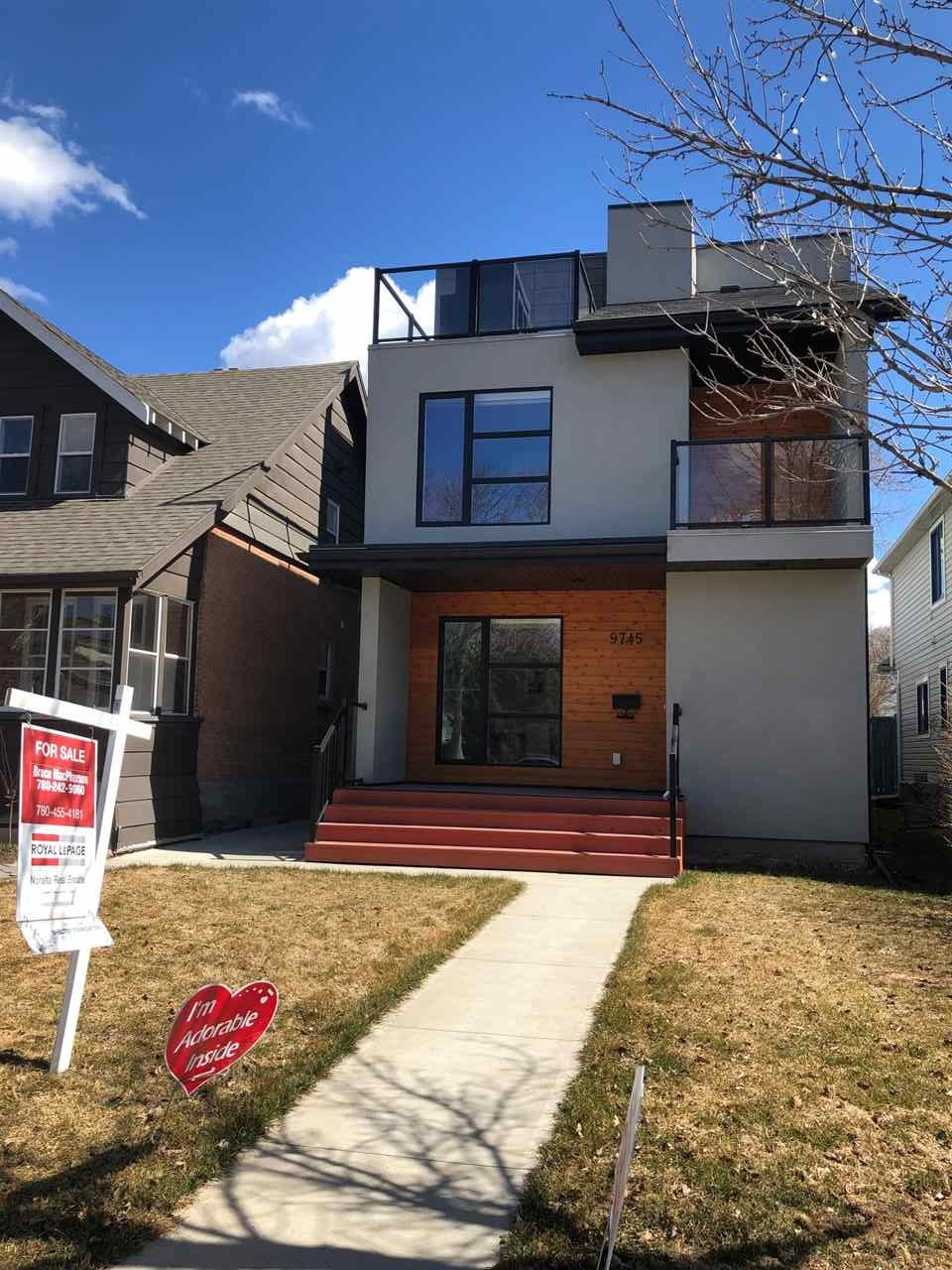 MLS® listing #E4142023 for sale located at 9745 93 Street