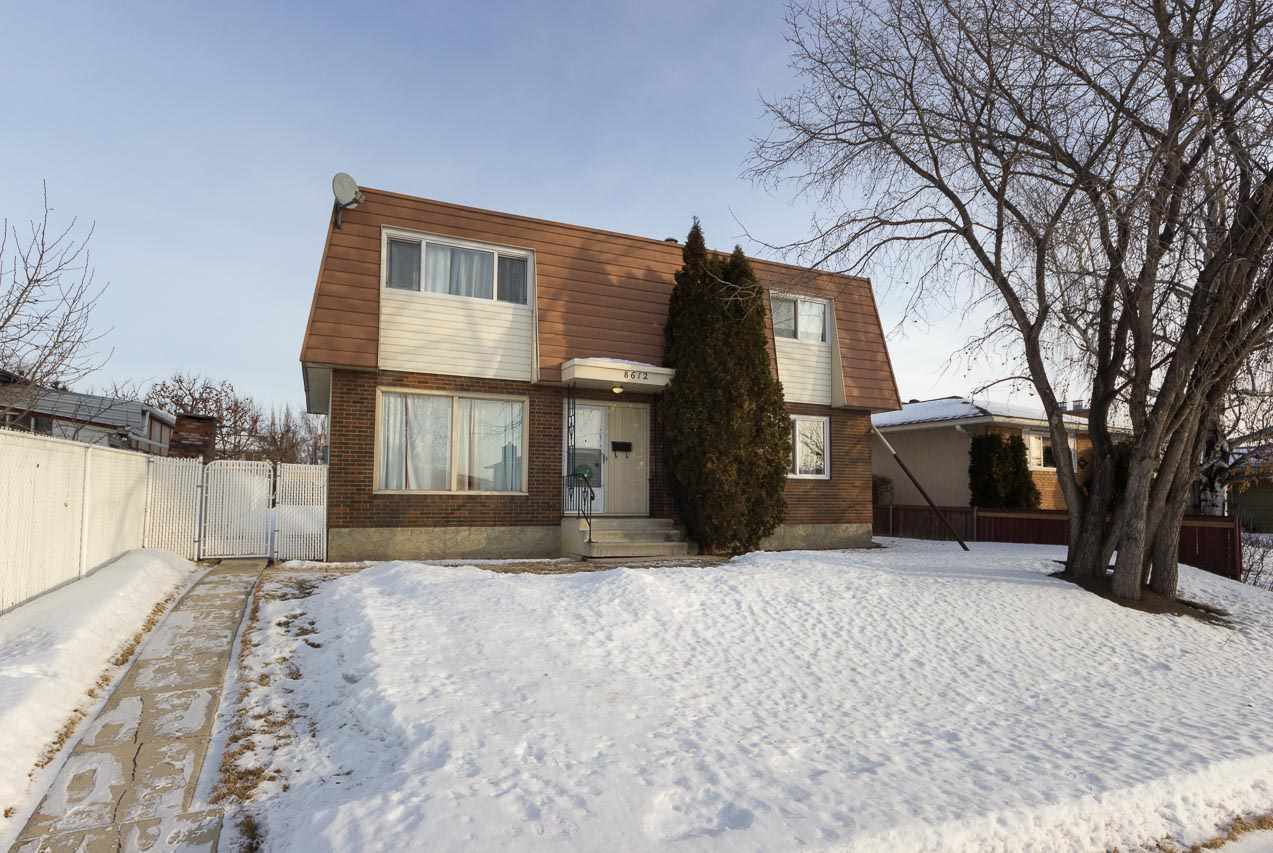 MLS® listing #E4142158 for sale located at 8612 141 Avenue