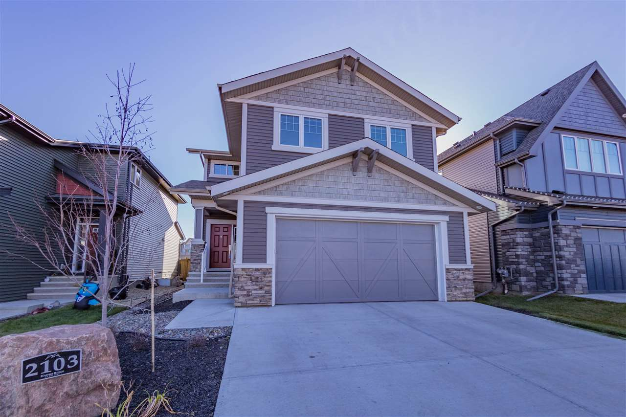 MLS® listing #E4142326 for sale located at 2103 REDTAIL Common