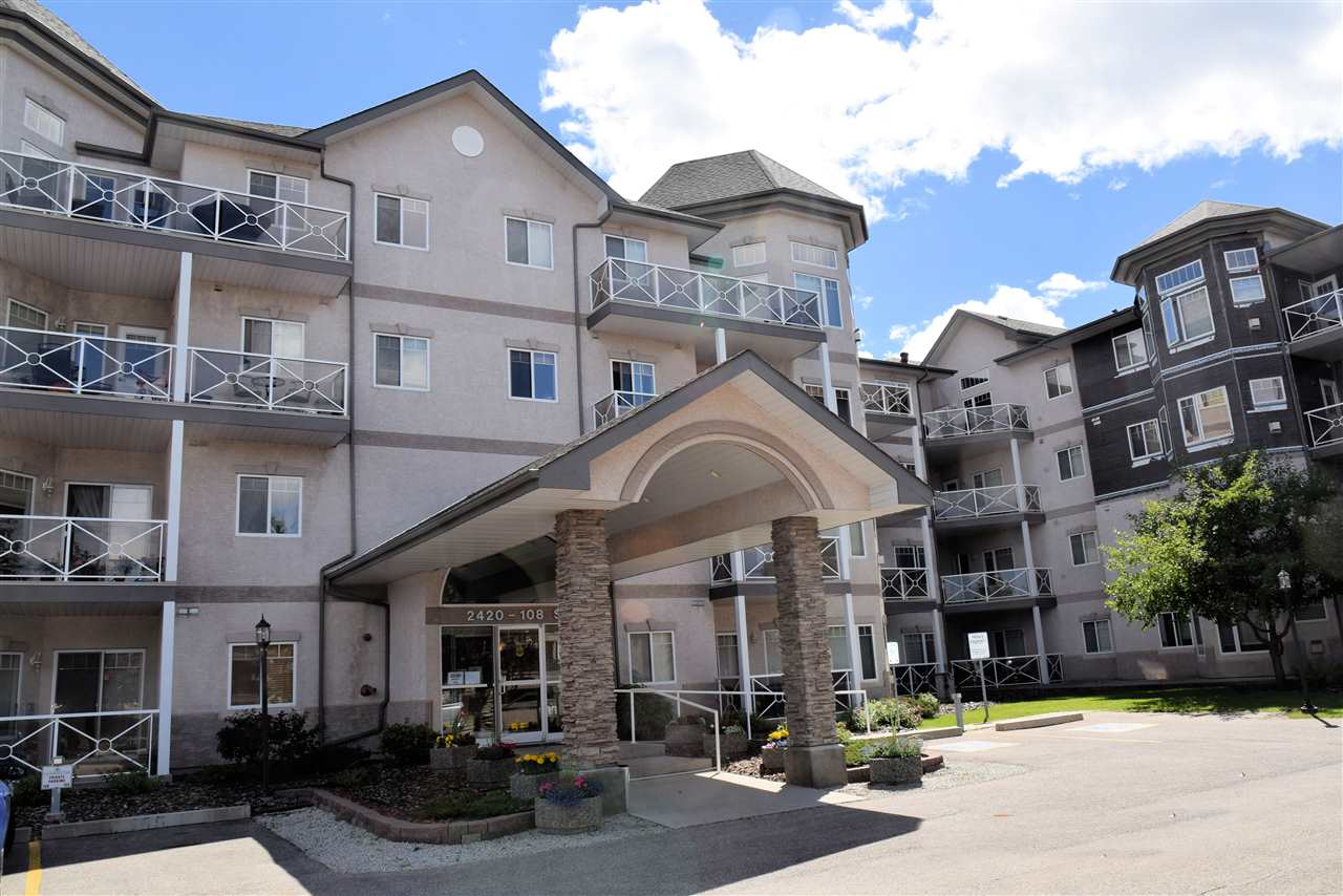 MLS® listing #E4142426 for sale located at 211 2420 108 Street NW