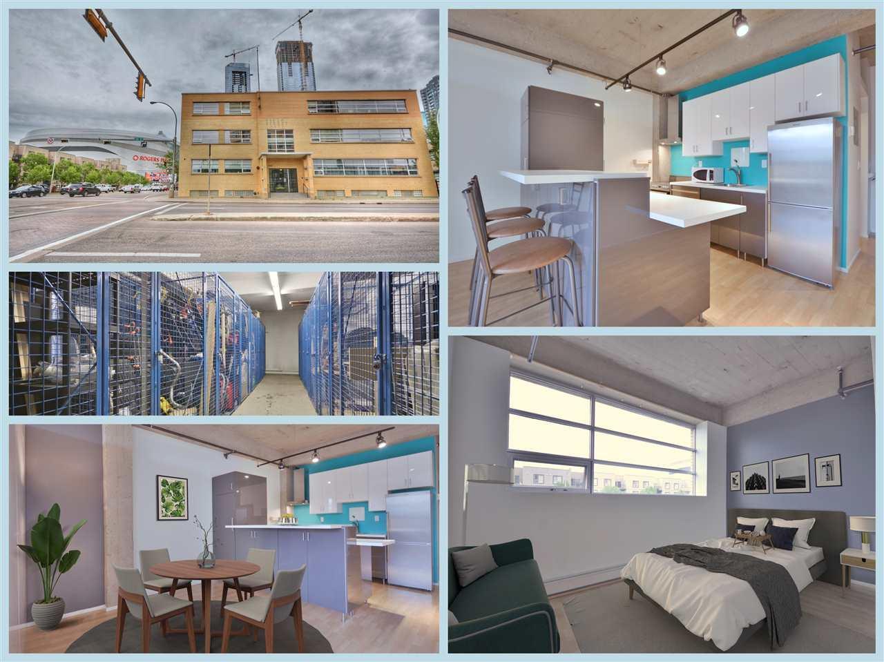 206 10355 105 Street, 1 bed, 1 bath, at $229,000