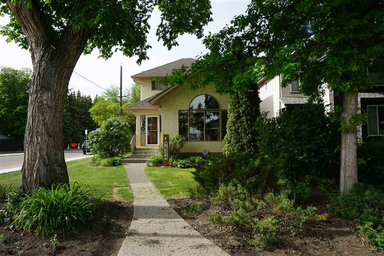 MLS® listing #E4143688 for sale located at 7534 110 Avenue
