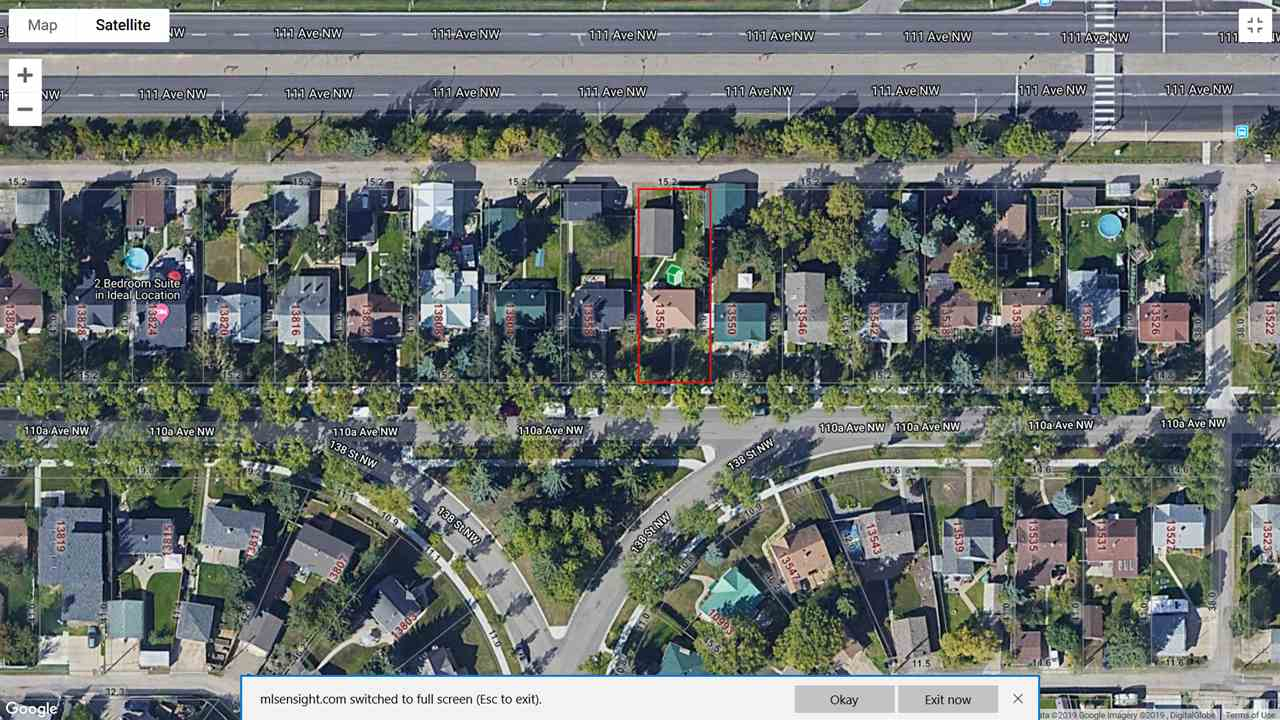 MLS® listing #E4143906 for sale located at 13554 110A Avenue NW