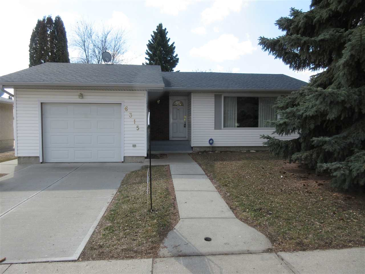 MLS® listing #E4143951 for sale located at 6315 152A Avenue