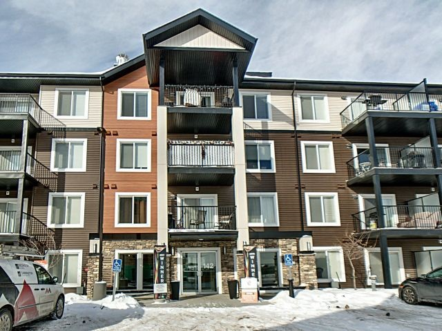 MLS® listing #E4144977 for sale located at 210 142 Ebbers Boulevard