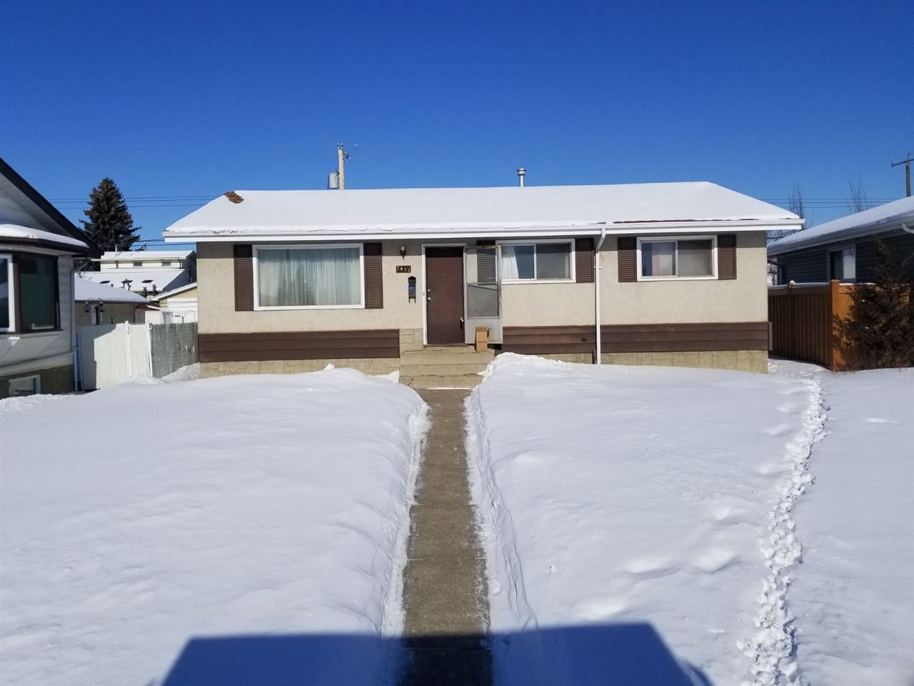 MLS® listing #E4145162 for sale located at 7412 133 Avenue