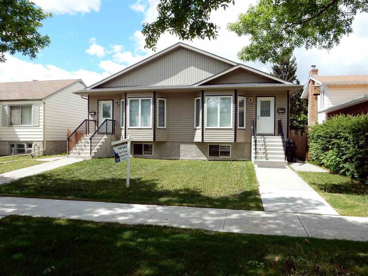 MLS® listing #E4145191 for sale located at 11918 - 11920 124 Street