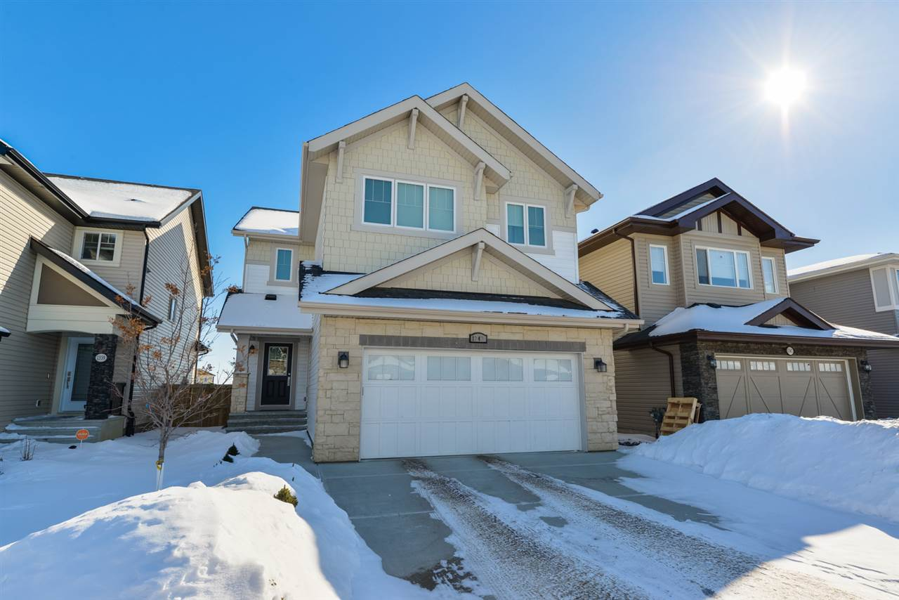 MLS® listing #E4145784 for sale located at 1343 158 Street