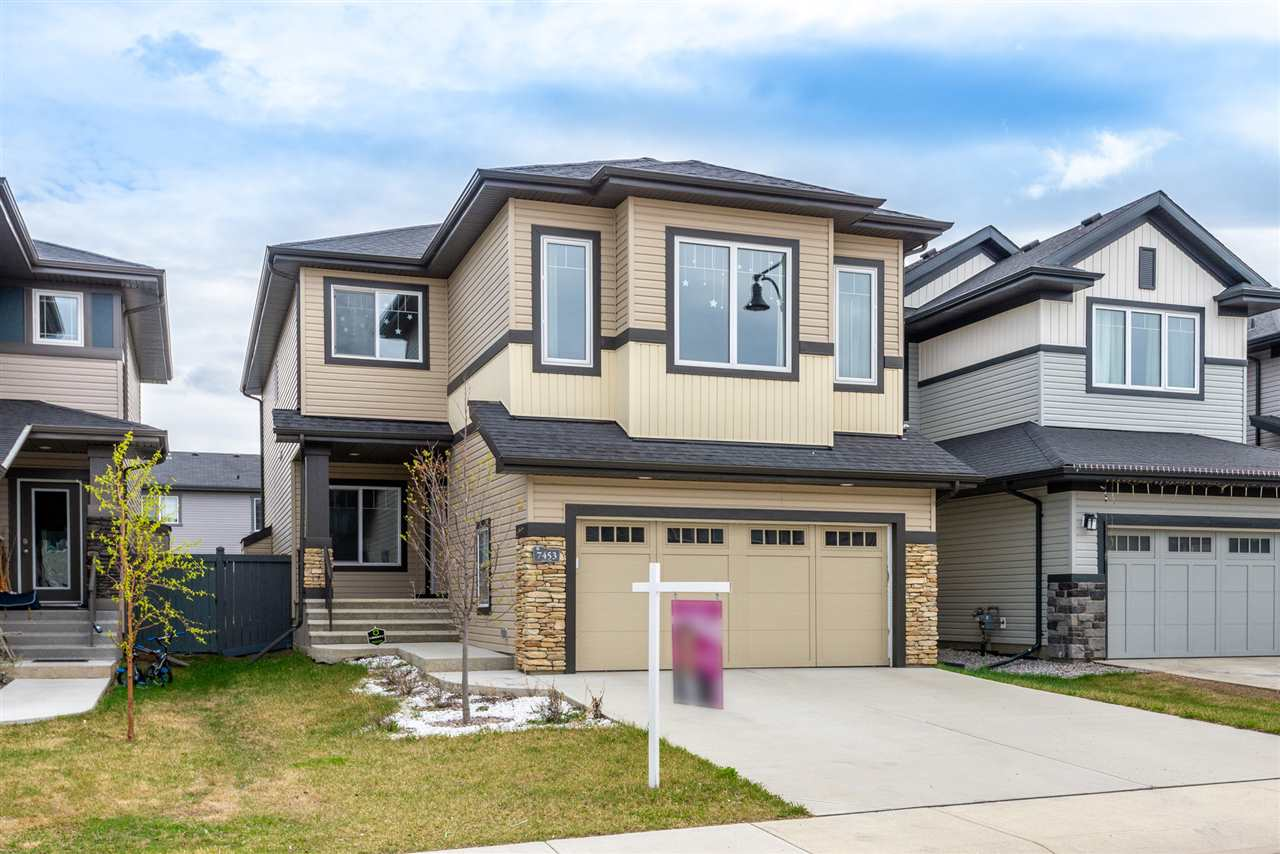 MLS® listing #E4145957 for sale located at 7453 GETTY Way