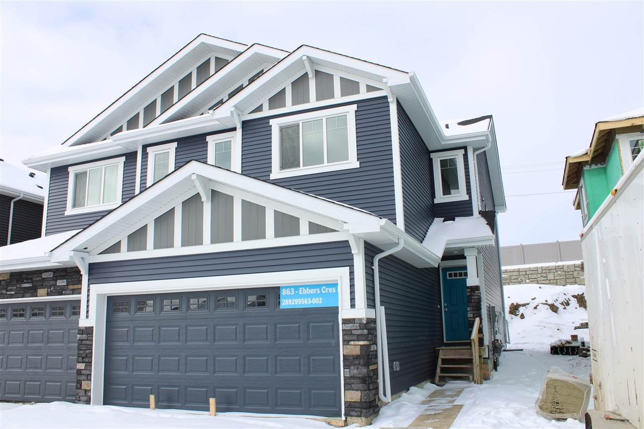 MLS® listing #E4145976 for sale located at 863 EBBERS Crescent