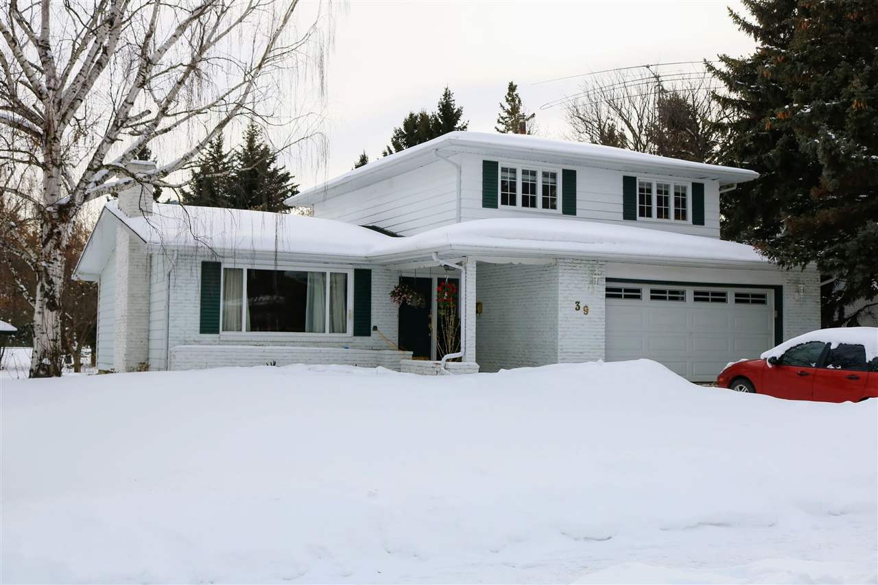 MLS® listing #E4145997 for sale located at 39 FAIRWAY Drive