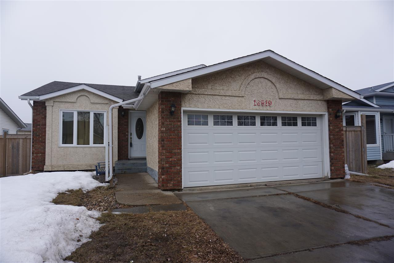 MLS® listing #E4146111 for sale located at 16919 91 Street