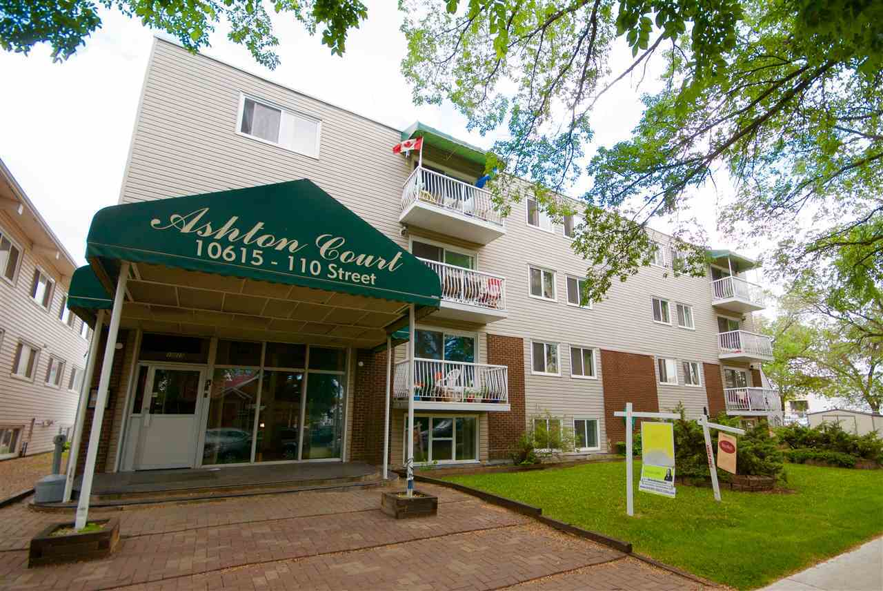 MLS® listing #E4146176 for sale located at 402 10615 110 Street