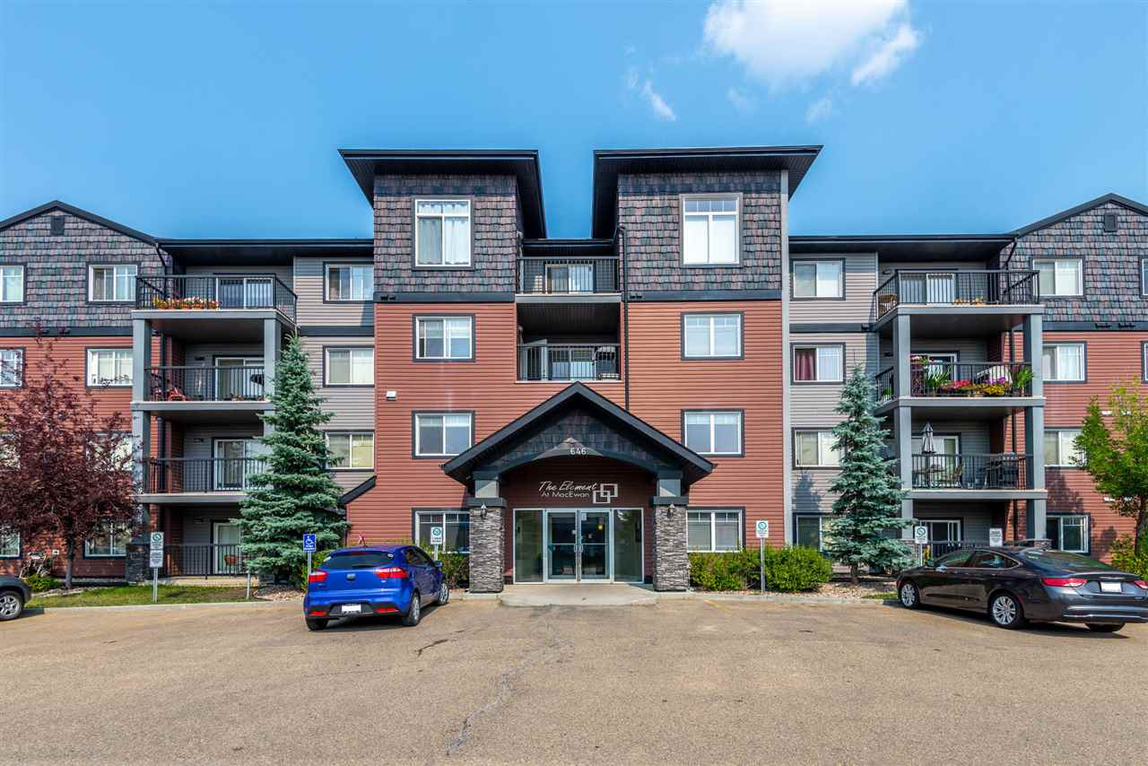 MLS® listing #E4146302 for sale located at 219 646 MCALLISTER Loop