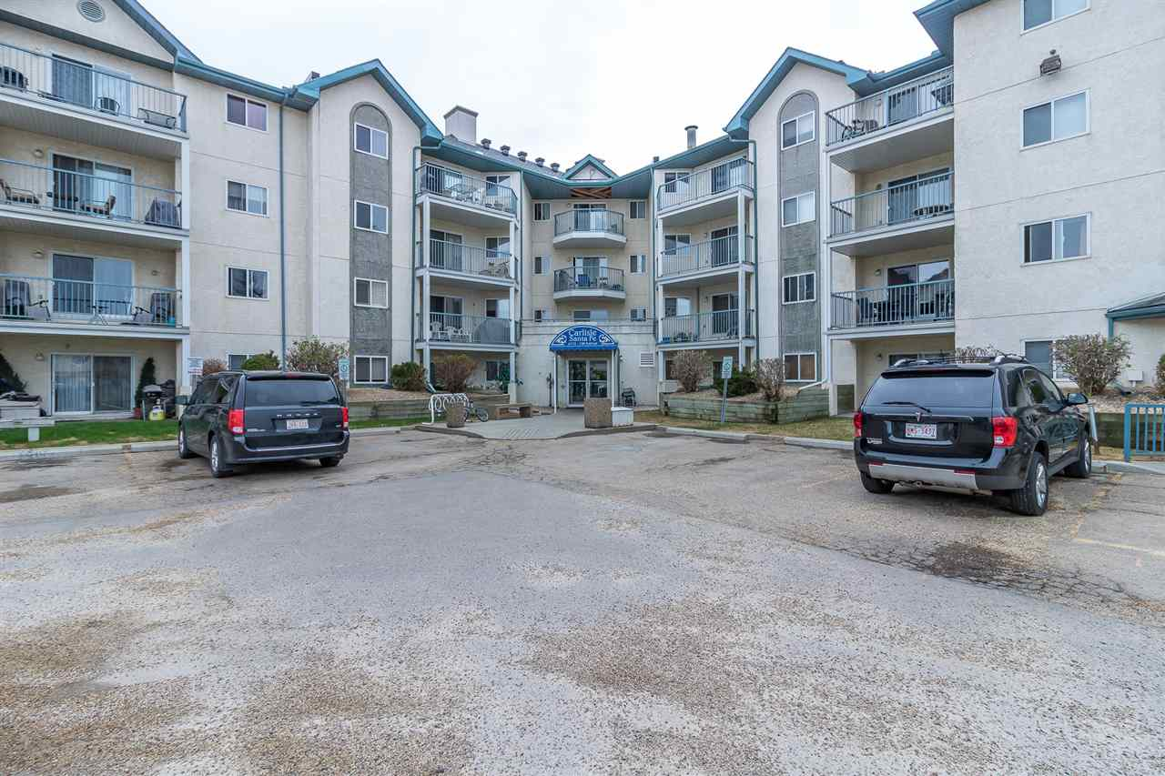 MLS® listing #E4146523 for sale located at 107 6710 158 Avenue