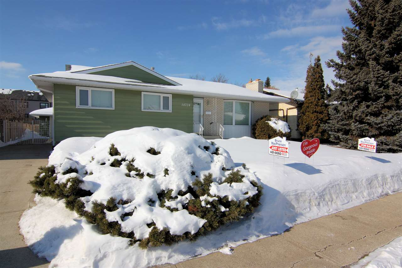MLS® listing #E4146534 for sale located at 14724 123 Street