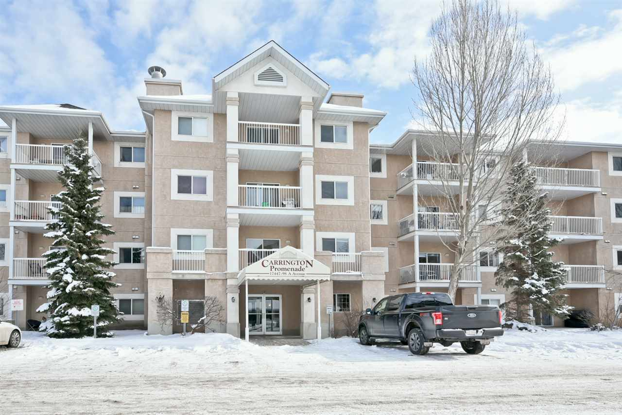 MLS® listing #E4146872 for sale located at 338 17447 98A Avenue