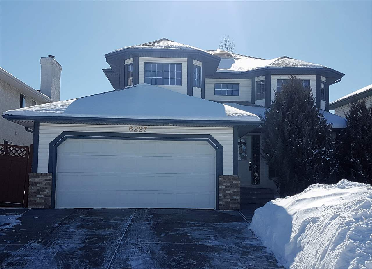 MLS® listing #E4146886 for sale located at 6227 162B Avenue