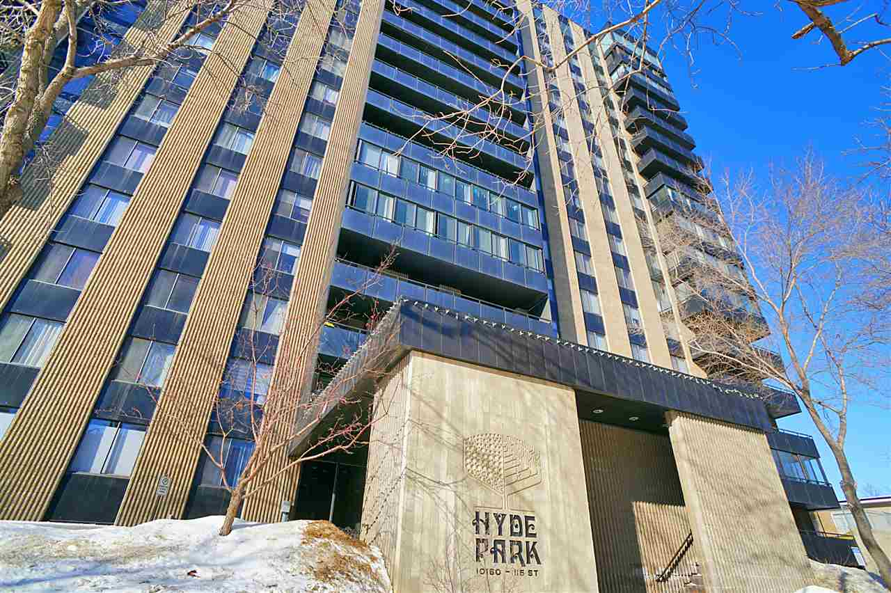 MLS® listing #E4146932 for sale located at 1605 1605 10160 115 St NW