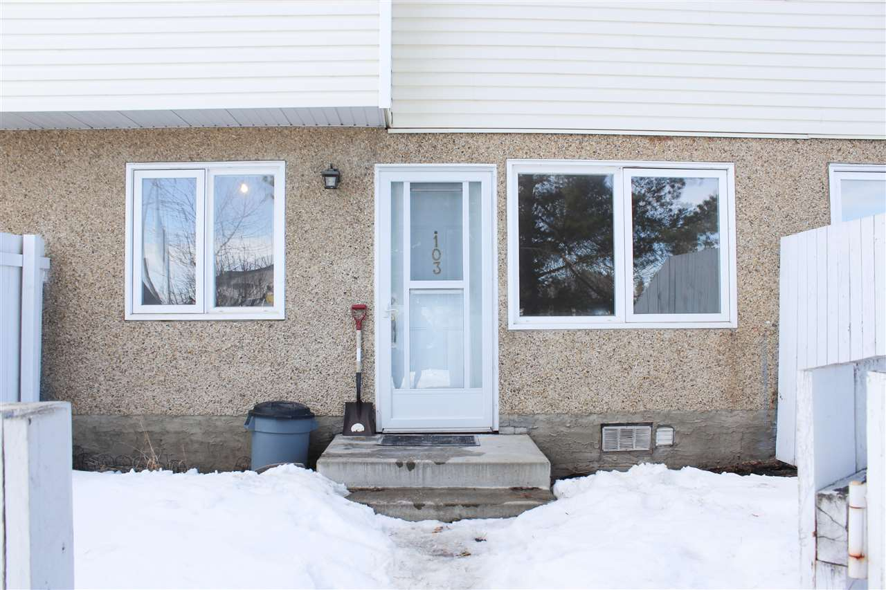 MLS® listing #E4147107 for sale located at 103 16340 109 Street