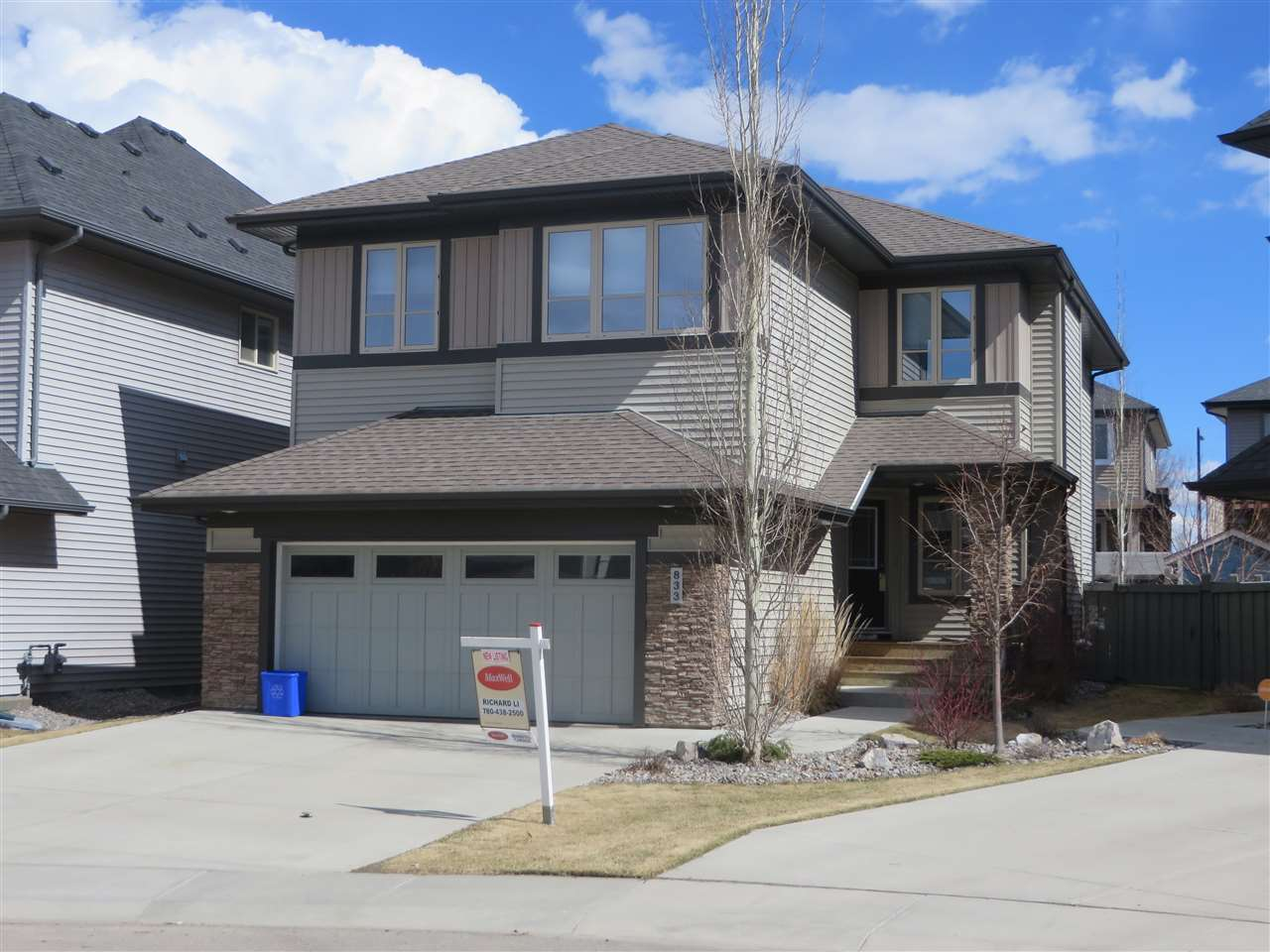 MLS® listing #E4147402 for sale located at 833 ARMITAGE Wynd