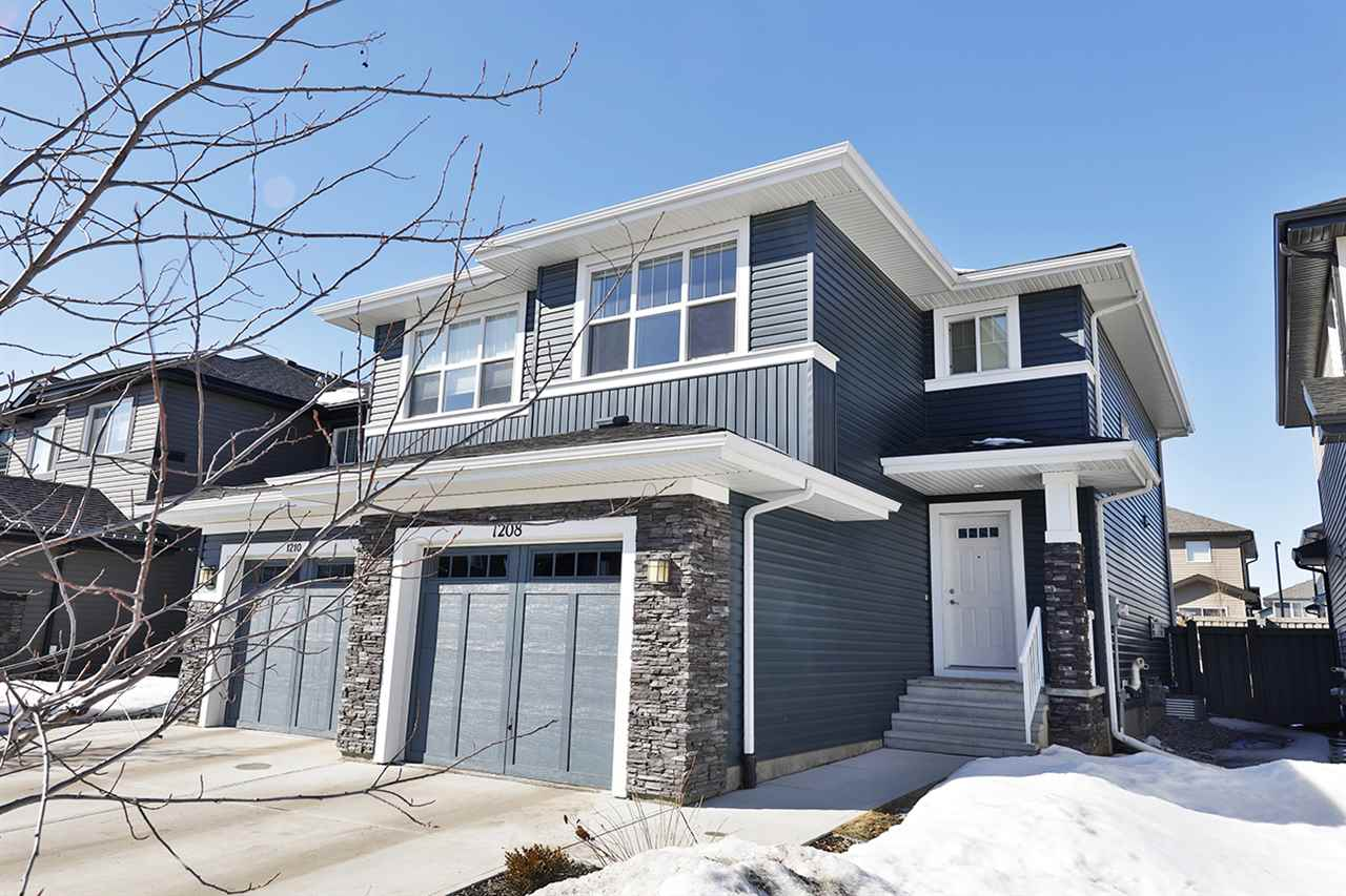 MLS® listing #E4147472 for sale located at 1208 176 Street