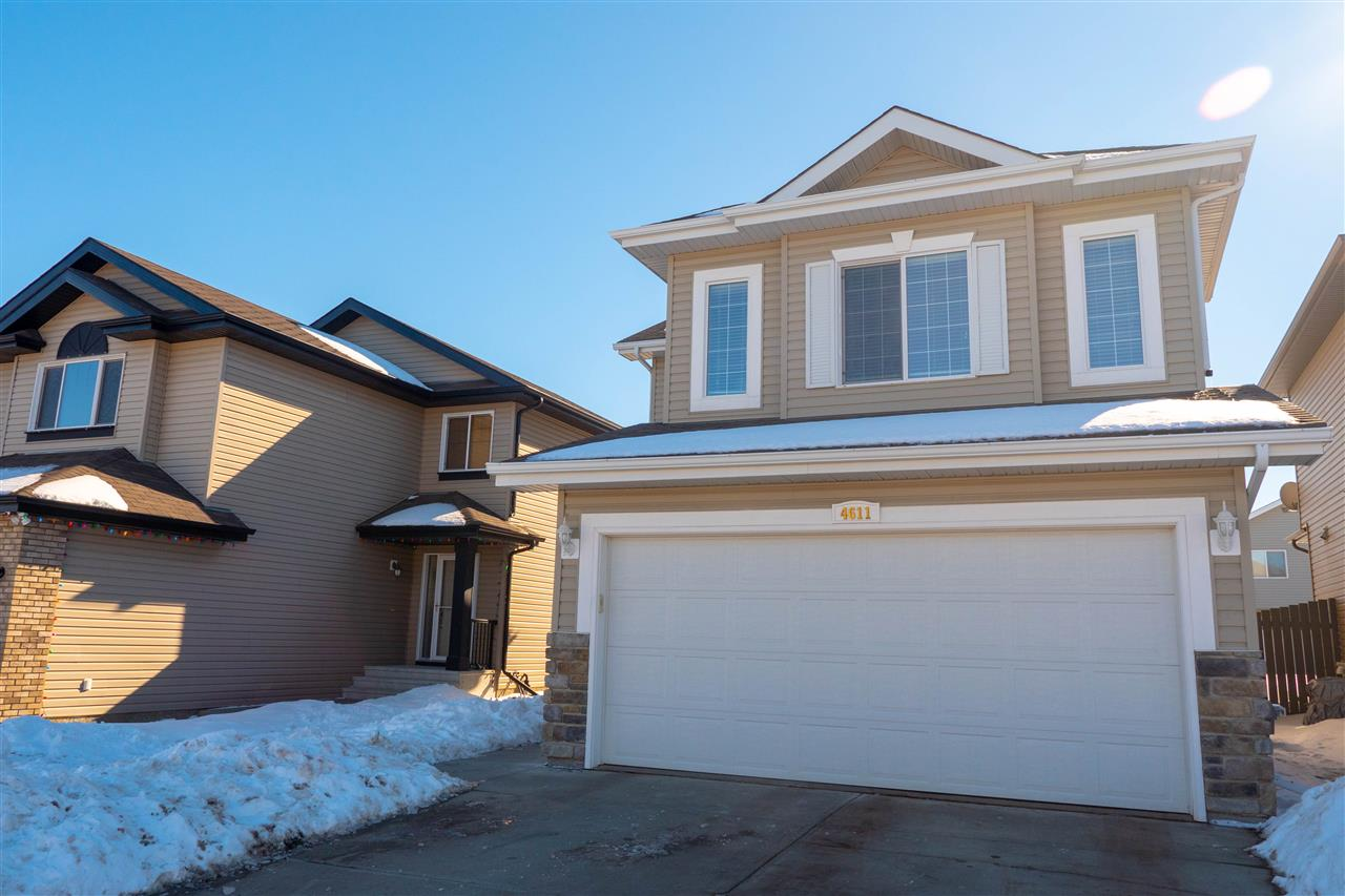 MLS® listing #E4147506 for sale located at 4611 163A Avenue