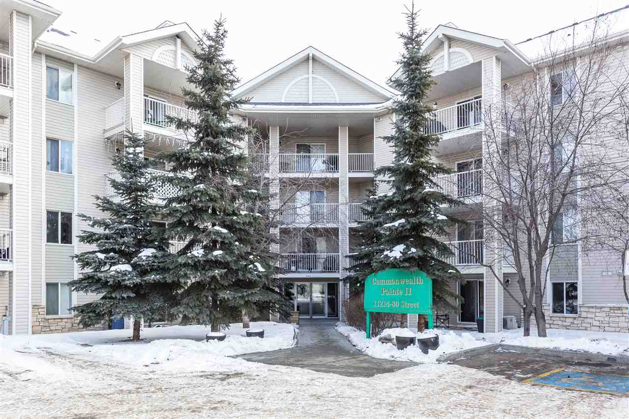 MLS® listing #E4147723 for sale located at 2408 11214 80 Street NW