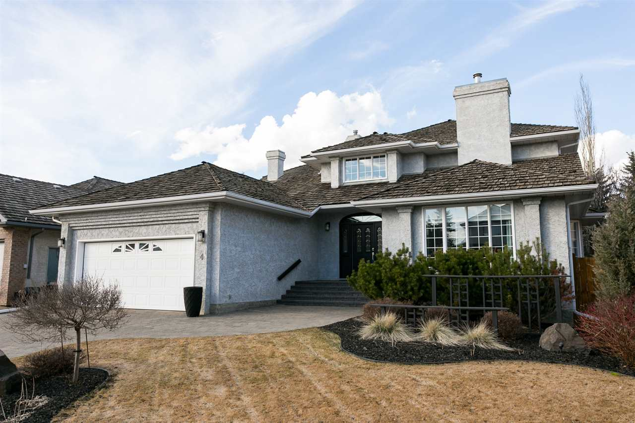MLS® listing #E4147725 for sale located at 4 Estate Crescent