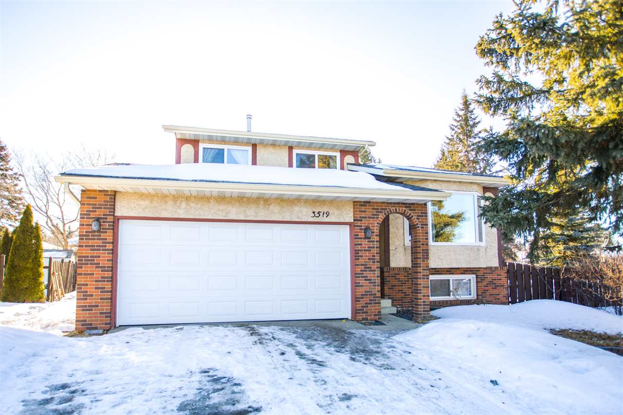 MLS® listing #E4147793 for sale located at 3519 Hillview Crescent NW