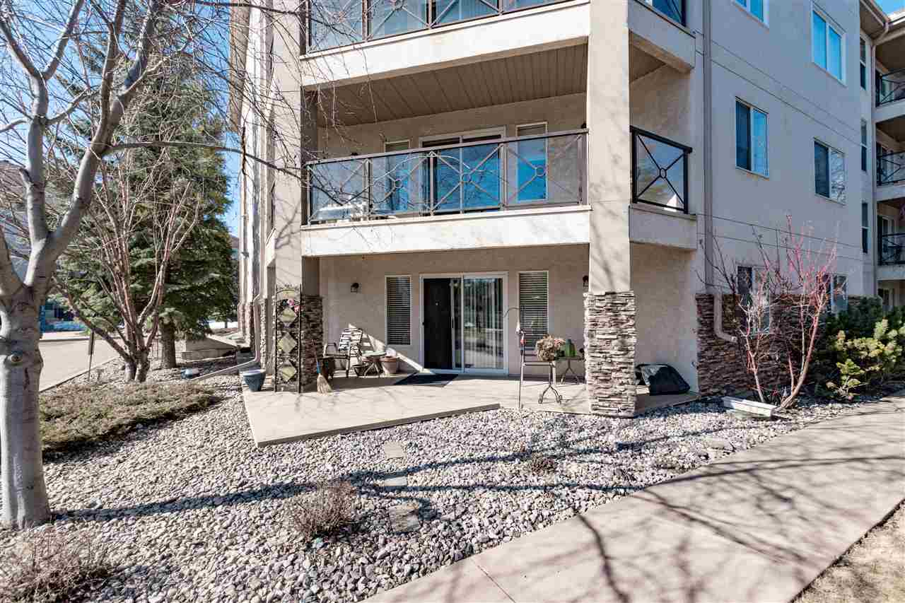 MLS® listing #E4148460 for sale located at 105 8942 156 Street