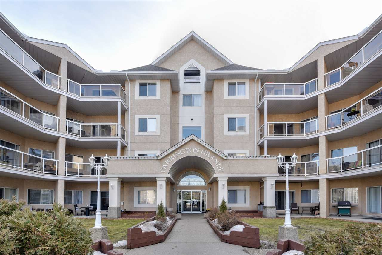 MLS® listing #E4148859 for sale located at 214 17459 98A