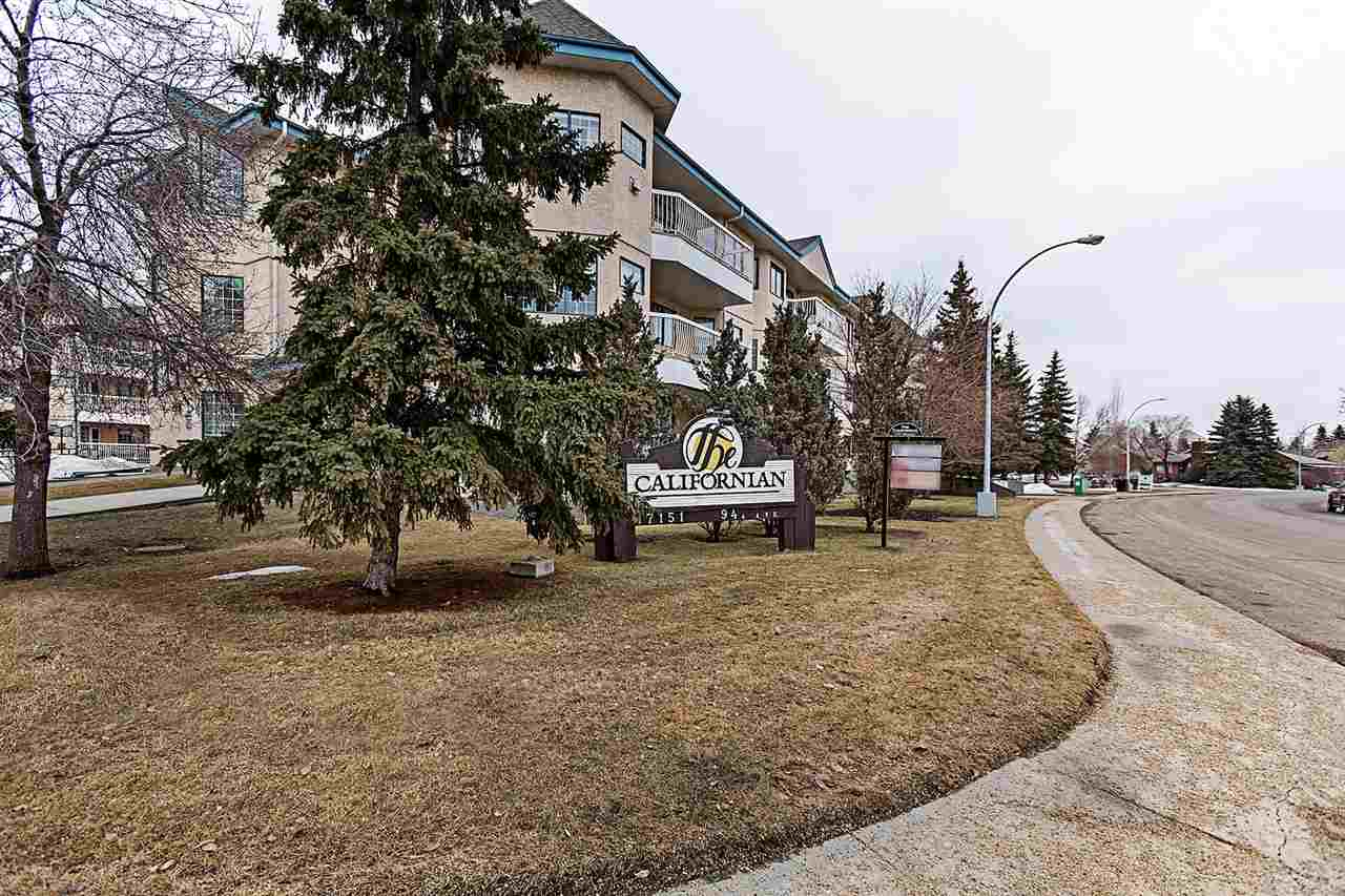 MLS® listing #E4148930 for sale located at 207 17151 94A Avenue