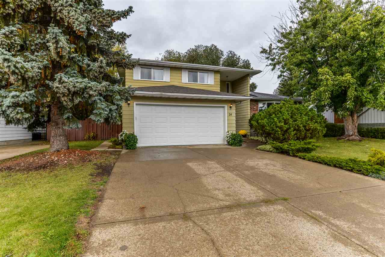 MLS® listing #E4149854 for sale located at 24 WESTRIDGE Crescent