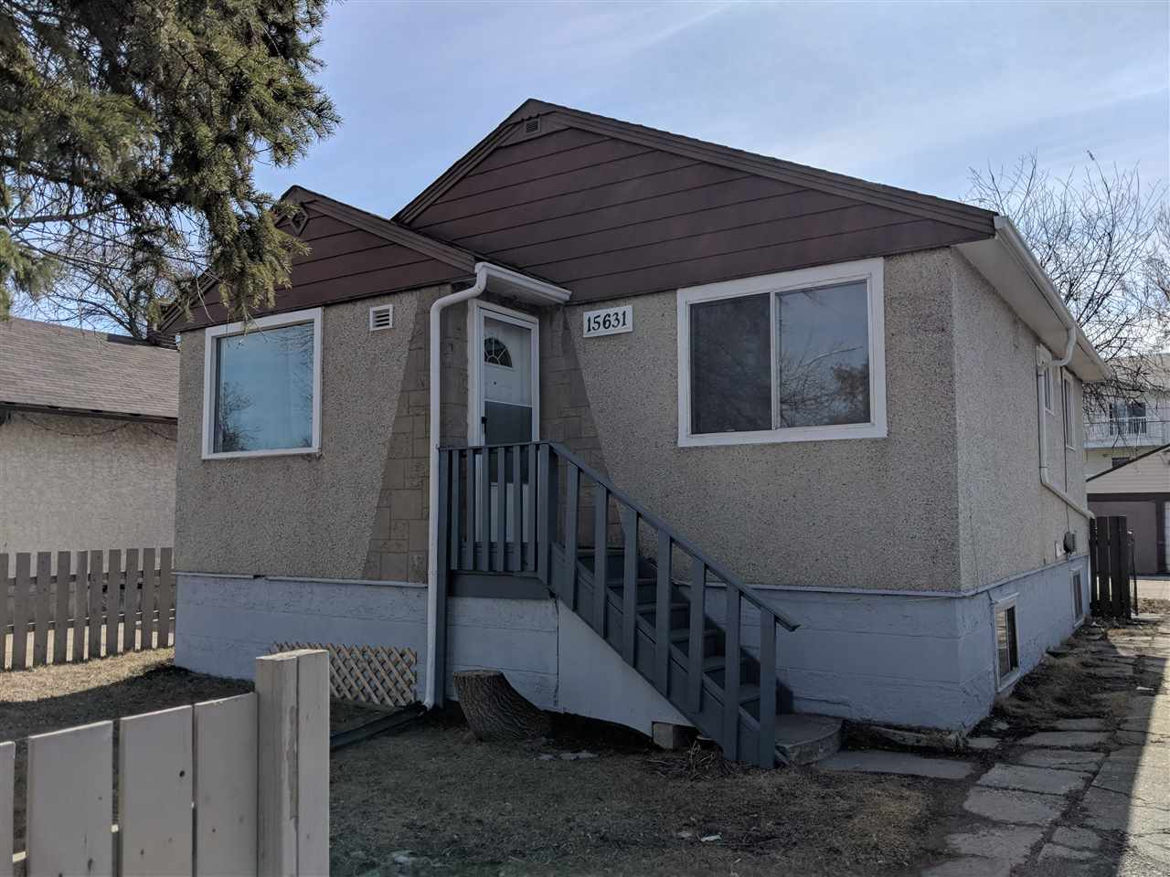 MLS® listing #E4150692 for sale located at 15631 100A Avenue