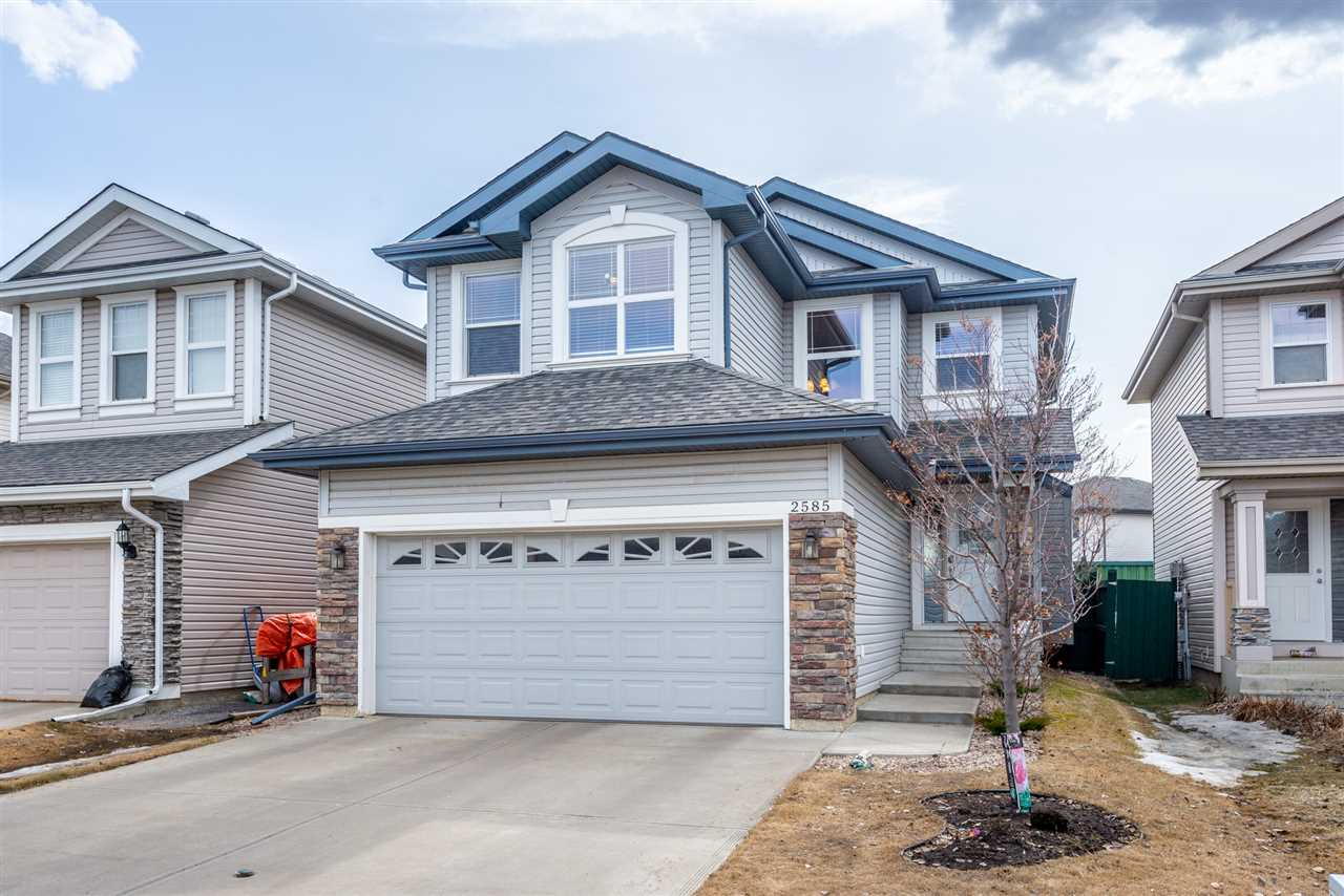 MLS® listing #E4151669 for sale located at 2585 HANNA Crescent