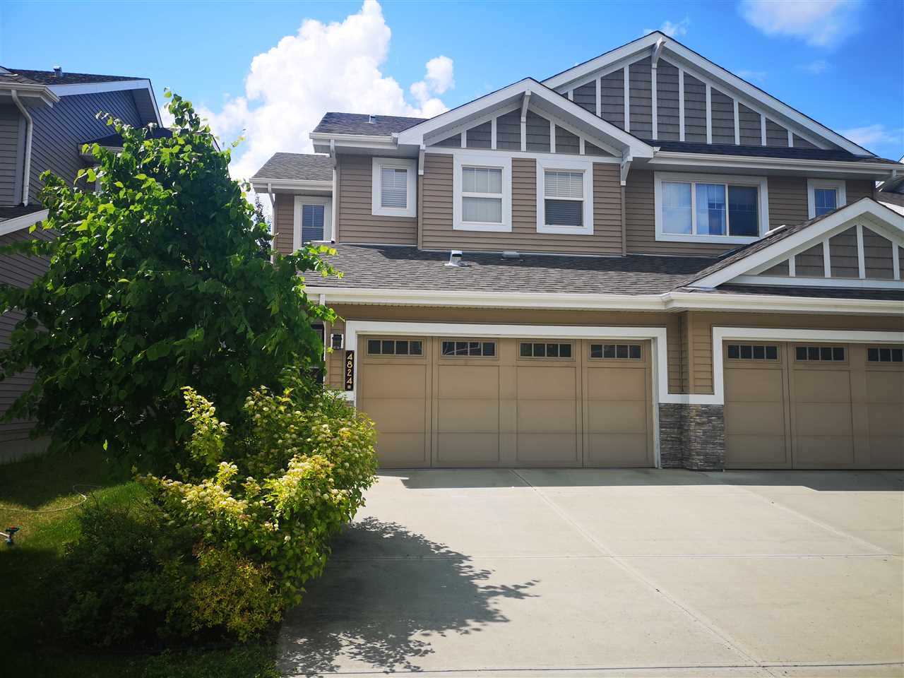 MLS® listing #E4152398 for sale located at 4824 213 Street