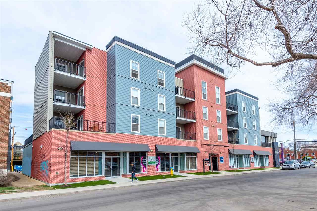MLS® listing #E4152994 for sale located at 212 10418 81 Avenue