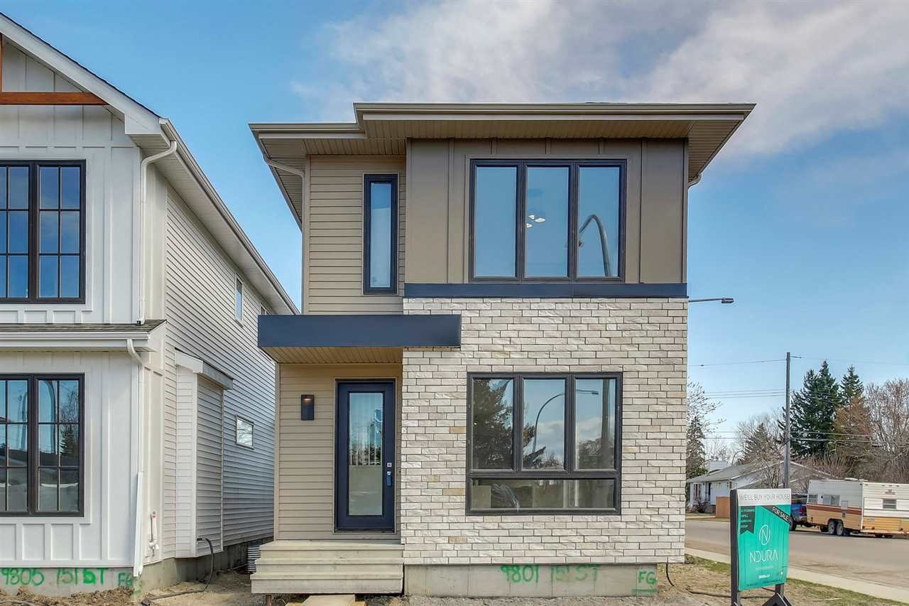 MLS® listing #E4153645 for sale located at 9801 151 Street