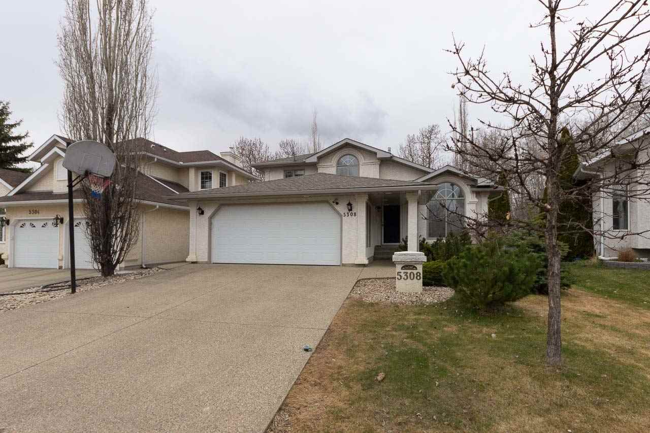 MLS® listing #E4153698 for sale located at 5308 187 Street