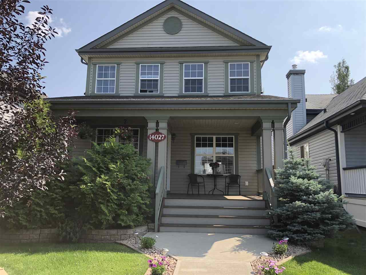 MLS® listing #E4154008 for sale located at 14027 152 Avenue